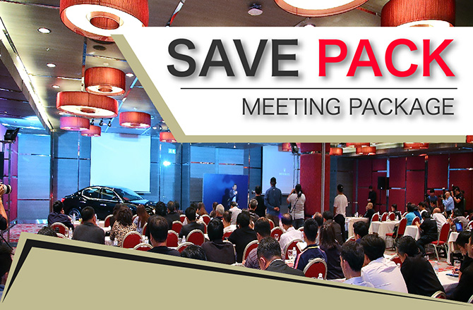 Save Pack Meeting Package