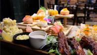 Food review at Uwajima at IMPACT Lakefront