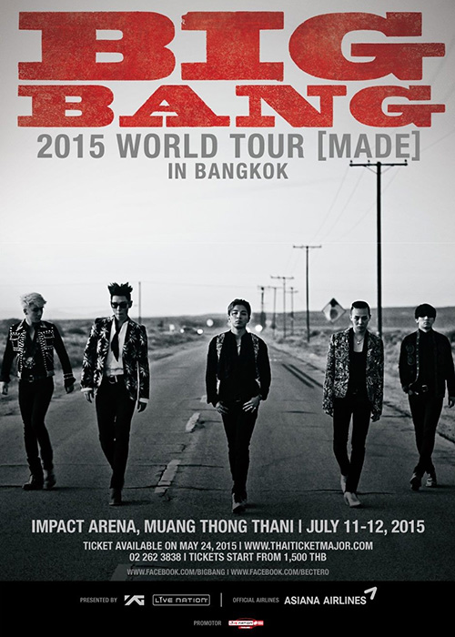 BIGBANG 2015 WORLD TOUR 'MADE' in Bangkok