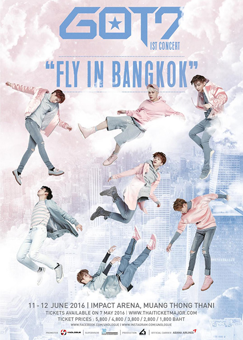 GOT7 1st Concert FLY IN BANGKOK