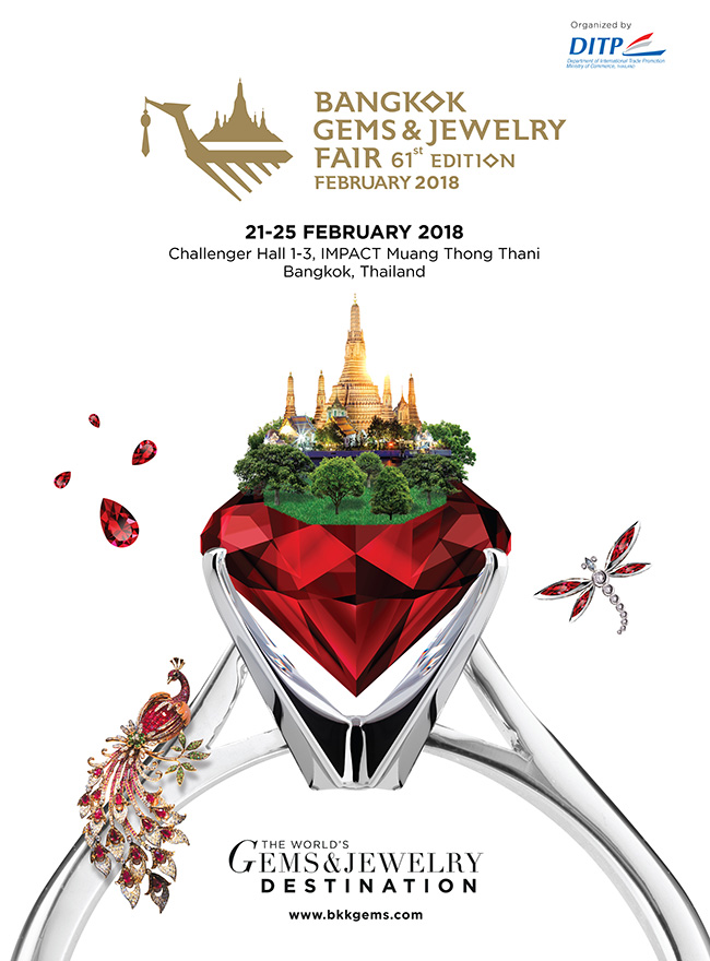 Bangkok Gems & Jewelry Fair 61st Edition February 2018