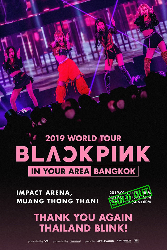 Blackpink 2019 World Tour (IN YOUR AREA) Bangkok