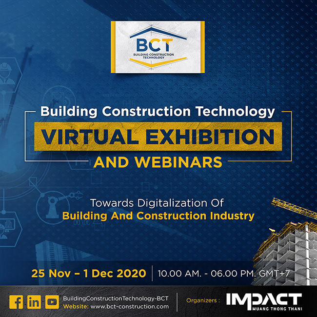 Building Construction Technology Virtual Exhibition and Webinar