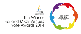 IMPACT The Winner Thailand MICE Venues Vote Awards 2014